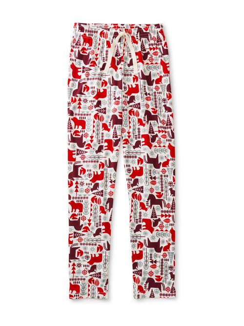 Tie Waist Adult Pajama Bottoms