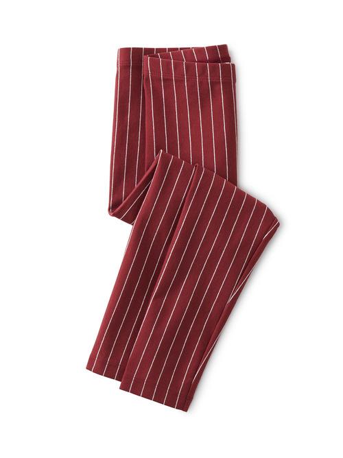 Metallic Stripe Leggings