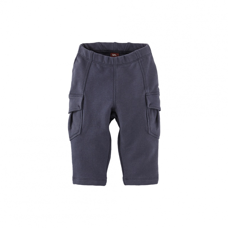 Skinny French Terry Cargo Pants