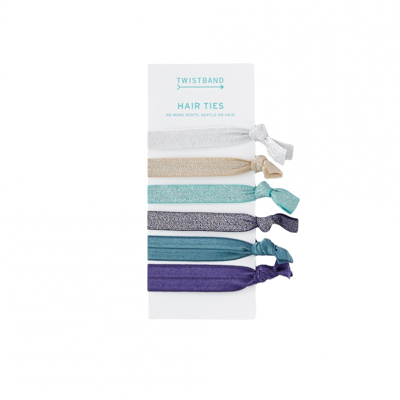 Twistband 6 Pack Hair Bands | Tea Collection