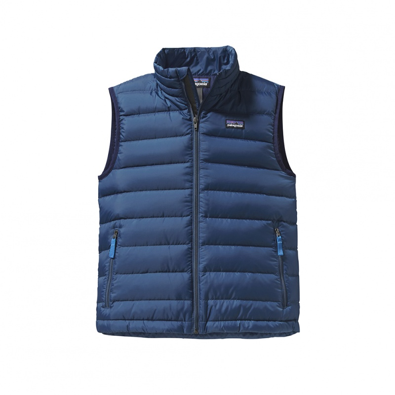 Patagonia Boys Down Vest | Tea Collection