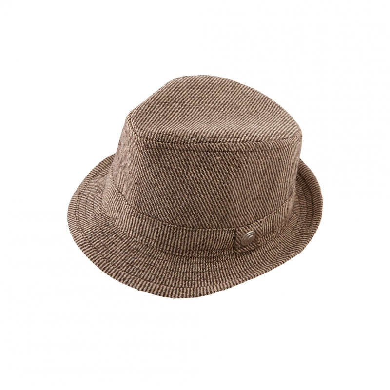 Tweed Fedora | Tea Collection
