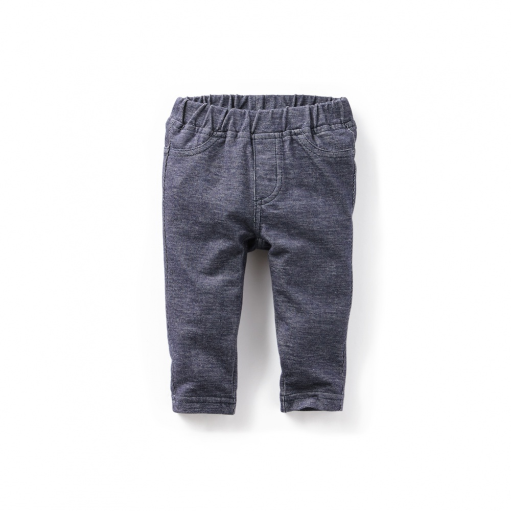 Skinny Minny Denim Look Skinny Pants