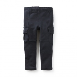 Skinny French Terry Cargos | Tea Collection