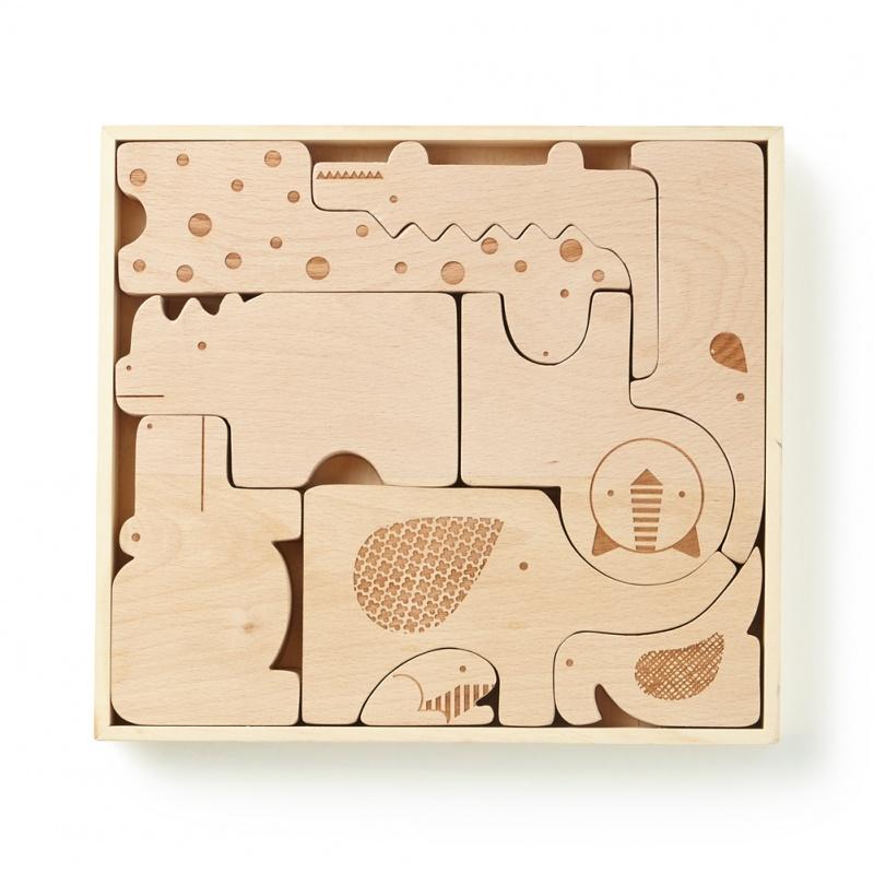 Wooden Safari Puzzle | Tea Collection