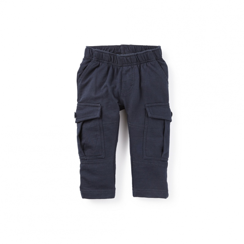 French Terry Baby Cargos | Tea Collection