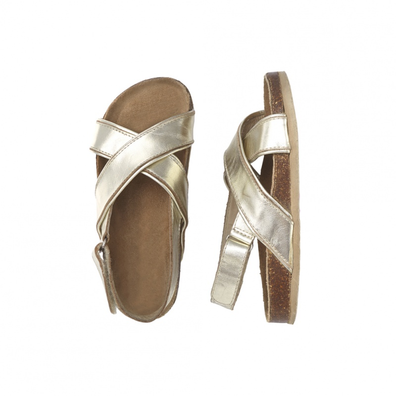 Old Soles Cross Sandal | Tea Collection