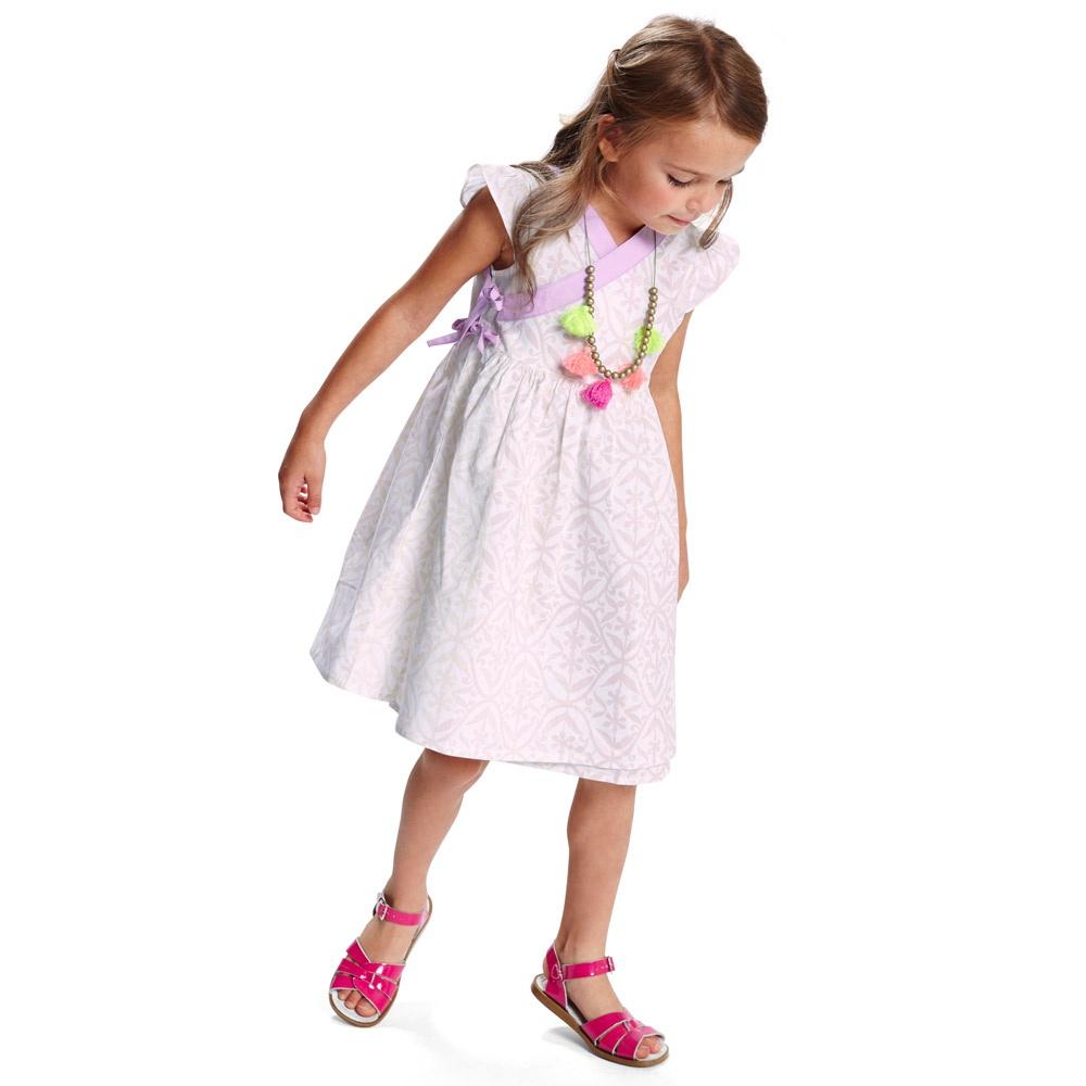 Saltwater Little Girls Sandals & More | Tea Collection
