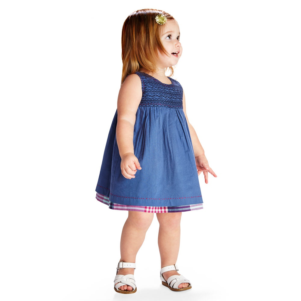 Patna Reversible Baby Dress Outfit