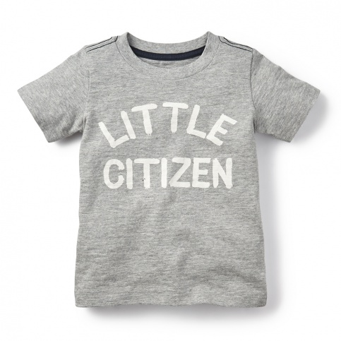 Little Citizen Graphic Tee for Little Boys | Tea Collection
