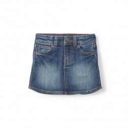 Destination Denim Skirt for Little Girls | Tea Collection
