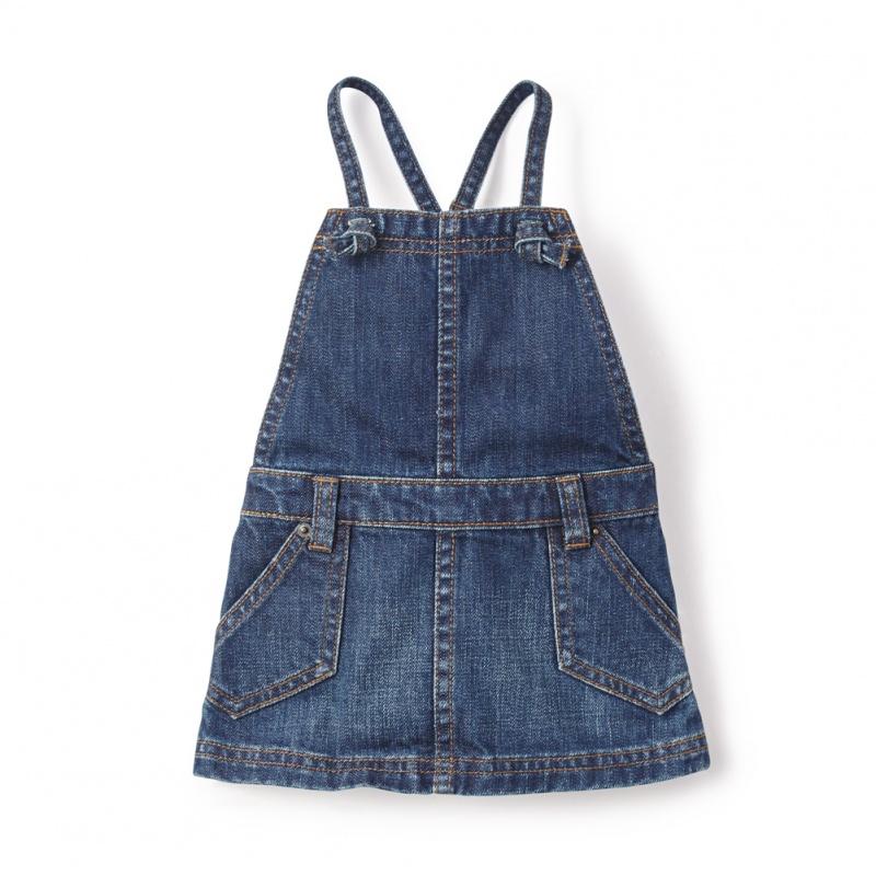 Destination Denim Baby Jumper for Girls | Tea Collection