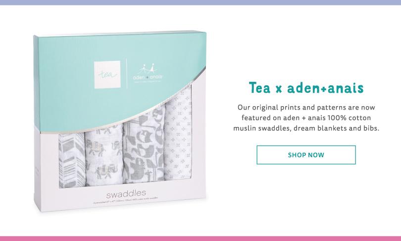 Shop Tea x Aden & Anais Clothing