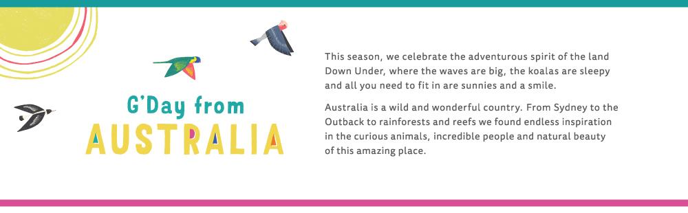 introduction description regarding Tea's season celebration towards Australia