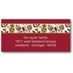 address labels gift tags folksy garden