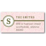 address labels gift tags sweet little floral: girl