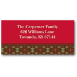 address labels gift tags diamond tapestry