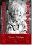 flat christmas photo cards homespun harvest