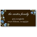 address labels gift tags winter wildflowers