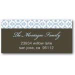 address labels gift tags tulip textile