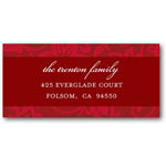 address labels gift tags regal vines