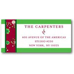 address labels gift tags wrapping ribbon